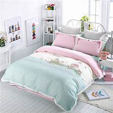 2017 bedding set cotton bed sheets pastoral