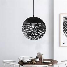 Black Ball Pendant Light Aliexpress Com Buy Modern Pendant Lights Hollow Ball