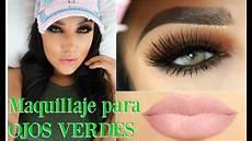 maquillaje ahumado para ojos verdes makeup smokey eye