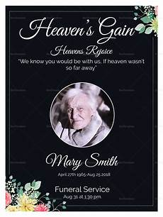 Funeral Invitation Sample Eulogy Funeral Invitation Card Design Template In Word