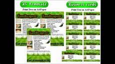 Landscape Flyer Template Landscape Gardening Leaflets Flyer Template Youtube