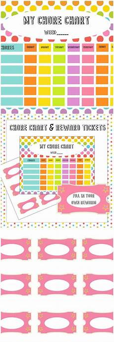 Where To Buy Chore Charts Free Chore Chart Amp Reward Tickets Printable Simply Stacie