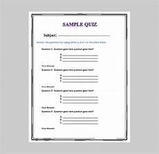 5 Best Free Business Quiz Templates Free Amp Premium Templates