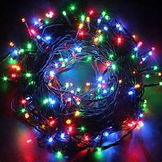 String Lights Fairy Lights 50m 250 Led String Fairy Lights 8 Mode Lamp Holiday Party