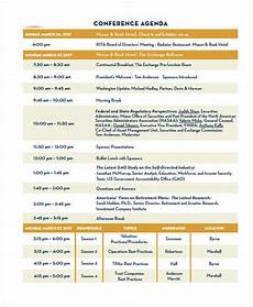 Sample Of Program Agenda Free 9 Program Agenda Examples Amp Samples In Pdf Examples