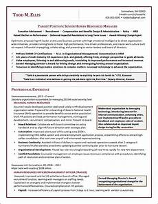 Human Resources Manager Resume Examples Human Resources Manager Resume Example Distinctive Documents