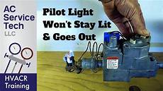 Will A Pilot Light Stay Lit With A Bad Thermocouple Top 10 Reasons Why The Gas Pilot Light Goes Out Amp Won T