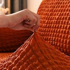 Slipcovered Sofa 3d Image by 1 2 3 4 Seater 3d Lattice Elastic Sofa Covers