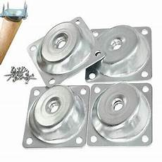 angled mounting plates for furniture legs 14 degree