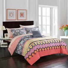 mainstays boho kamali bed in a bag king size bedding set