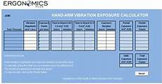 Vibration Magnitude Chart Hand Arm Vibration Hav A Step By Step Guide To
