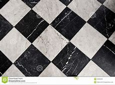 Black And White Marble Tiles Stock Photo   Image: 32068298