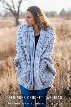 how to crochet a bobble cardigan tutorial part 2