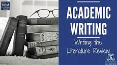 What Is Literture Review Writing The Literature Review Youtube