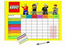 one world rewards chart reusable lego reward chart behaviour or chore chart for