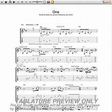 Mettalica Guitar Tab Metallica One Guitar Tab Guitarinternational Com