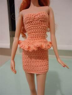 crochet clothes fashion doll crochet clothes simple bodycon turned