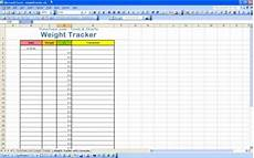 Weight Loss Chart Template Excel Excel Templates Excel Spreadsheets
