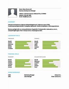 Cv Linen Chart 17 Infographic Resume Templates Free Download Hloom