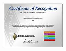 What Is Certificate Of Recognition Instructor Recognition Certificate