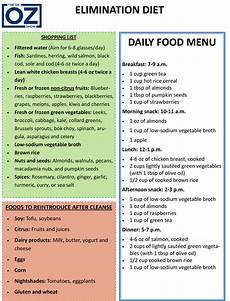 the elimination diet plan for food allergies the dr oz show