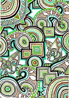 Trippy Drawings A Trippy Psychedelic Drawing By Japanese Artist Lutamesta