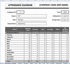 Manual Attendance Register Format Employee Attendance Sheet Format In Excel
