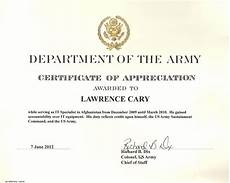 Certificate Of Appreciation Examples 6 Army Appreciation Certificate Templates Pdf Docx