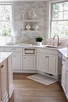 slate backsplash in kitchen white kitchen forever cottage