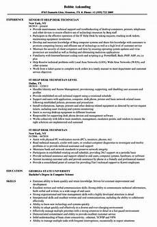 Help With Resume Wording Sample Cv Help Desk Technician It Support Technician Cv