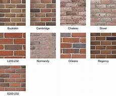 Boral Brick Chart Exceptional Colors Of Brick 1 Boral Bricks Color Houses
