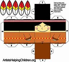 Paper Foldable Templates How To Make An Indian Boy Out Of Paper With Printable