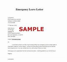 Emergency Vacation Request Letter Sample Of Emergency Leave Letter Careers Amp Jobs