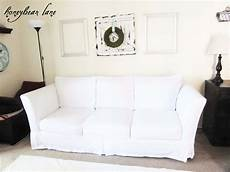 White Sofa Cover 3d Image by How To Make A Slipcover Part 1