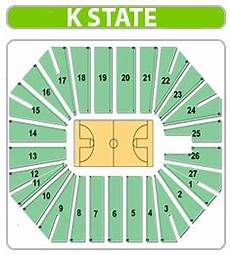 Iowa Basketball Seating Chart Kansas State Basketball Seating Chart