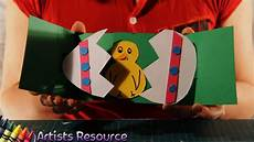 easter card template ks1 how to make an easter pop up card
