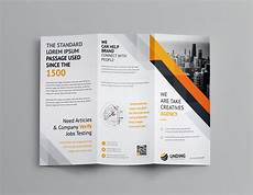 Folding Flyers Aristaeus Corporate Tri Fold Brochure Template 001166