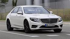 mercedes a klass 2020 2020 mercedes s class possibly spied for the time