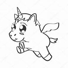 Unicorn Malvorlagen Kostenlos Quiz Schattig Unicorn Getekende Pictogram Stockvector 169 Djv