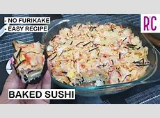 SUSHI BAKE   NO FURIKAKE   Easy Recipe   Baked Sushi