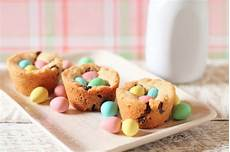 getting my just desserts chocolate chip cookie nests