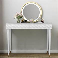 modern 3 vanity set with mirror dressing table with