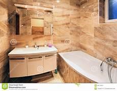 interno casa interno moderno bagno della casa fotografia stock