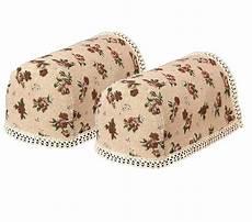 tapestry pair of standard arm caps floral sofa