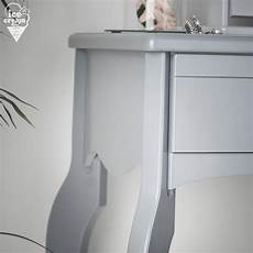 sorrento two set grey dressing table with drawers