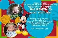 Mickey Mouse Birthday Invites Exclusive Mickey Mouse Clubhouse Birthday Invitations