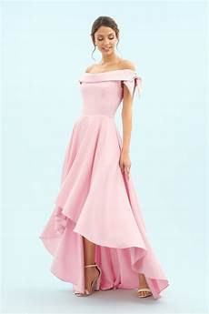 dresses tilly high low gown
