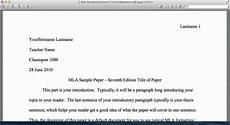 Essay Intro Format Mla Style Tutorial General Format Amp Introduction Youtube