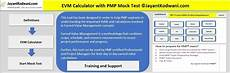 Evm Spreadsheet Pmp Evm Earned Value Management Terms And Formula