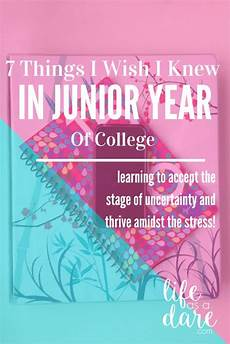 Junior Year Starting Junior Year Here Are 7 Tips For For Your Junior